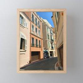 Monaco  Monte Carlo Cityscape Framed Mini Art Print