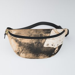 Alice chases a pig - Alice in Wonderland Fanny Pack