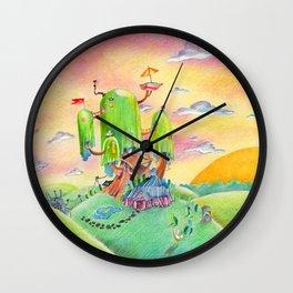Land of Ooo Wall Clock