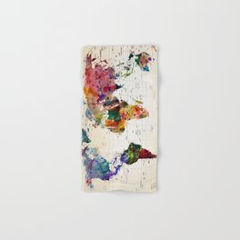 map Hand & Bath Towel