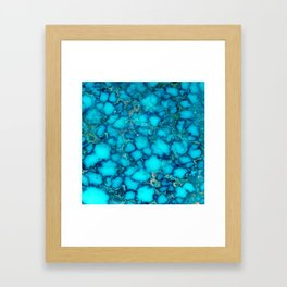 Smearing effects Framed Art Print
