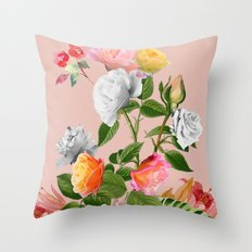 Floral Pop II Throw Pillow