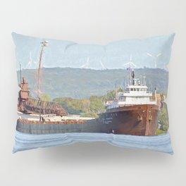 Lee Tregurtha Freighter Pillow Sham