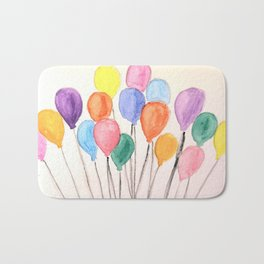 Balloon Doodle Bath Mat