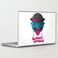 cookie Laptop & iPad Skins featuring Insert Cookie by mrbiscuit