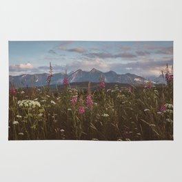 Mountain vibes - Landscape and Nature Photography Rug