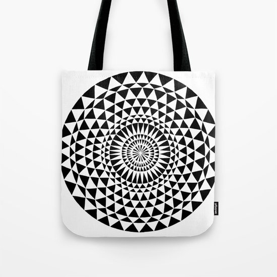 Sun in B&W Tote Bag