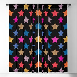 Colorful Star IV Blackout Curtain