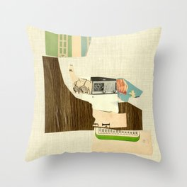exponential function Throw Pillow