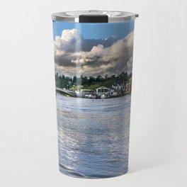 The River Thames at Reading Travel Mug