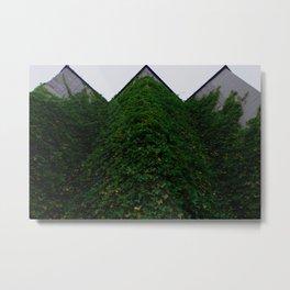 Lush Edge Metal Print