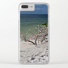 Drift Off Into the Blue Clear iPhone Case