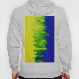 Spring Breeze Abstraction  Hoody