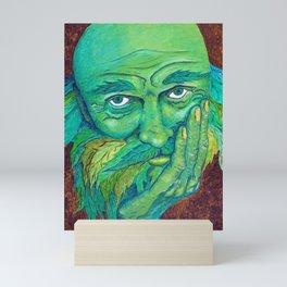 The Greenman by Mary Bottom Mini Art Print