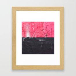 Halved Framed Art Print