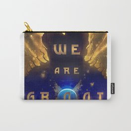 Groots Words Of Wisdom Carry-All Pouch