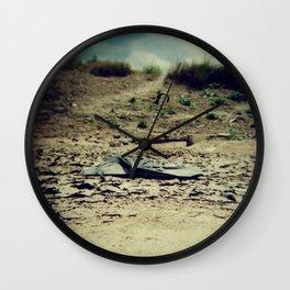 Broken umbrella Wall Clock