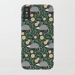 Opossums iPhone Case