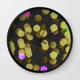 Spring Magic Confettis Wall Clock