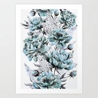 Summer flowers IV Art Print
