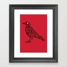 Murderous Crows Framed Art Print