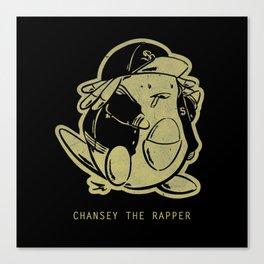 PokéRappers: Chansey the Rapper Canvas Print