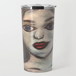 The Maiden cloaked in starlight Travel Mug