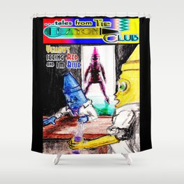 Tales From The Crayon Club Shower Curtain
