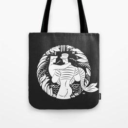 Sailor love black Tote Bag