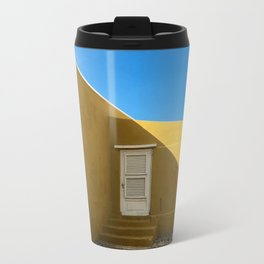 Stranger Metal Travel Mug