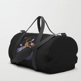 A reader lives a thousand lives - Diving Dress Space Adventures Duffle Bag