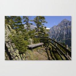 Aellfluh Grindelwald Switzerland Canvas Print