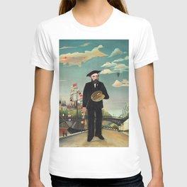 """Henri Rousseau """"Self Portrait from L'ile Saint Louis"""", 1890 T-shirt"""