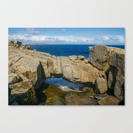 Natural Bridge, Torndirrup and West Cape Howe National Parks, Albany, Western Australia Canvas Print