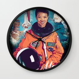 Mae Jemison Wall Clock