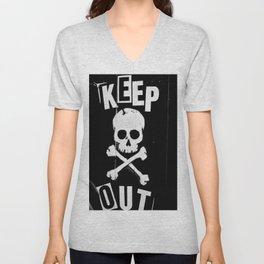 Keep Out Unisex V-Neck