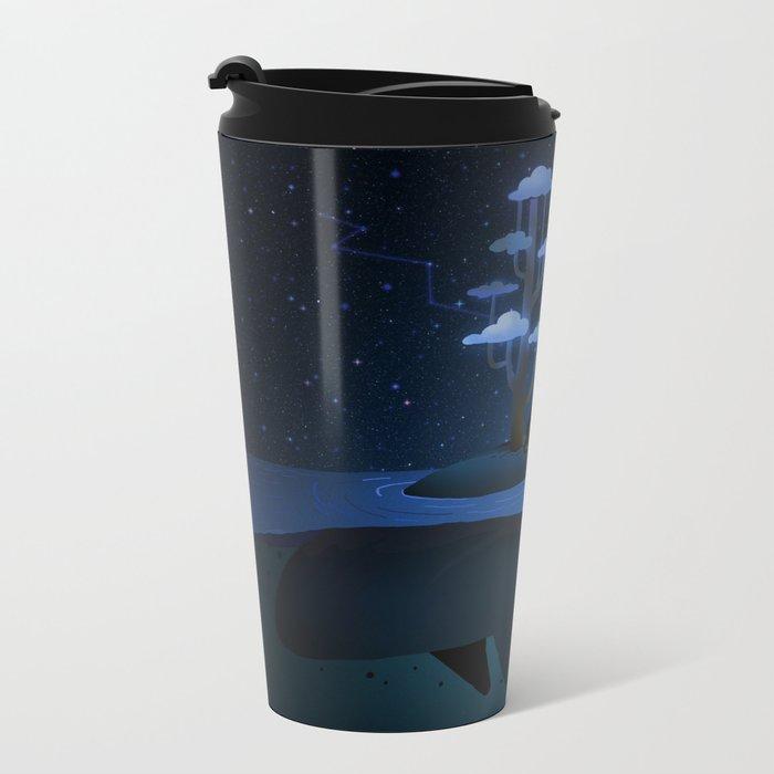 Whale Island Metal Travel Mug