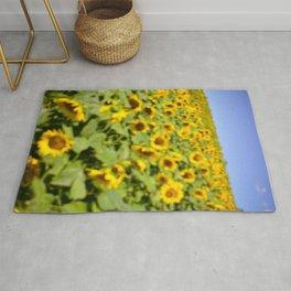 Summer Sunflower Love II Rug