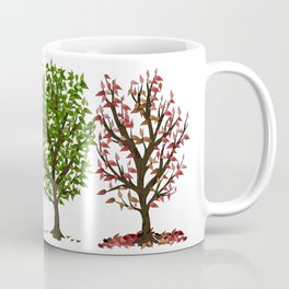 Four Seasons of Trees Coffee Mug