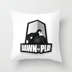 Dawn of Play Throw Pillow