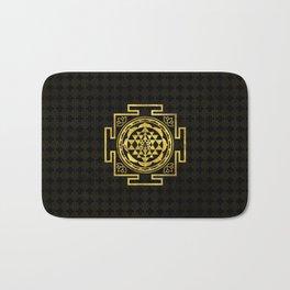Golden Sri Yantra  / Sri Chakra Bath Mat