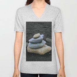 Zen Rocks Unisex V-Neck
