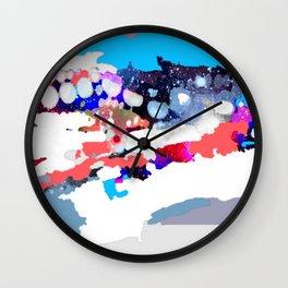 Winter's Night Wall Clock
