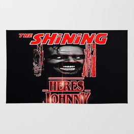 The Shining Here's Johnny Rug