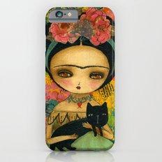 Frida And Her Cat Slim Case iPhone 6