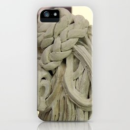 """Plaited"" by ICA PAVON iPhone Case"