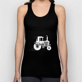 This Is How I Roll Tractor Design For A Farmer design Unisex Tank Top