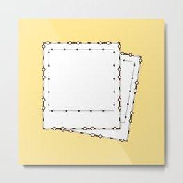 Two polaroids Metal Print