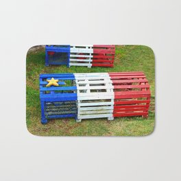 Acadian Lobster Traps Bath Mat