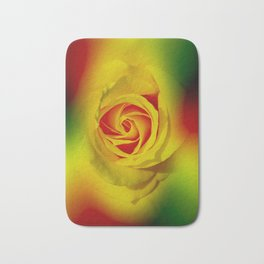 Abstract in Perfection - Rose Bath Mat